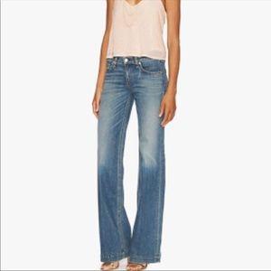 Rag & Bone Wide Leg Jeans 27